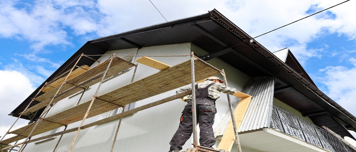 Choudhary Scaffolding provides both commercial and home scaffolding.